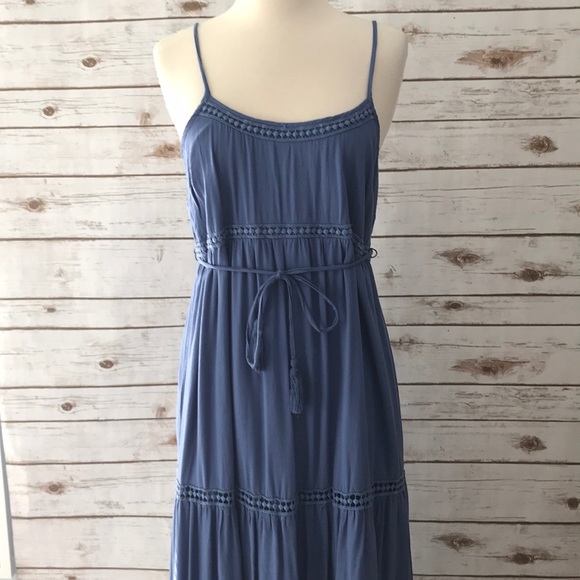 • Motherhood Maternity Blue Maxi Dress •